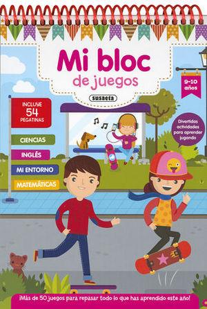 MI BLOC DE JUEGOS 9-10 AÑOS