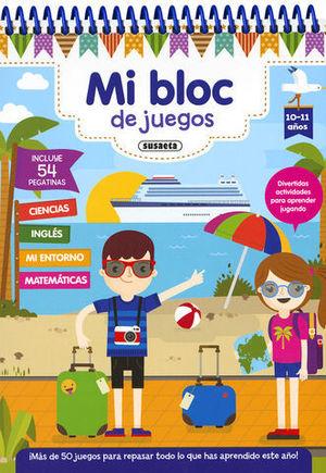 MI BLOC DE JUEGO 10- 11 AÑOS