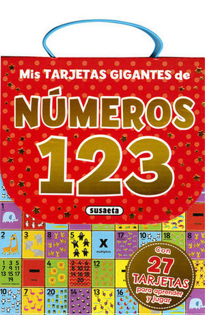 MIS TARJETAS GIGANTES DE NUMEROS 123