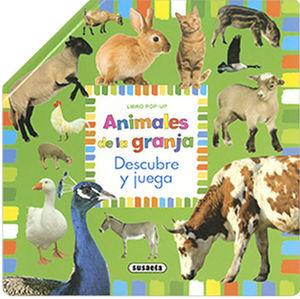 ANIMALES DE LA GRANJA.  DESCUBRE Y JUEGA