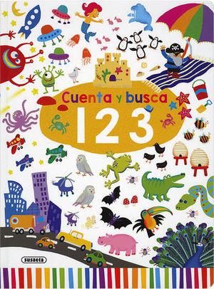 CUENTA Y BUSCA.  1, 2 , 3