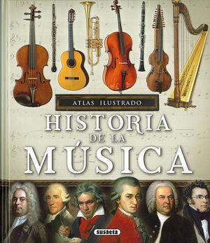 ATLAS ILUSTRADO HISTORIA DE LA MUSICA