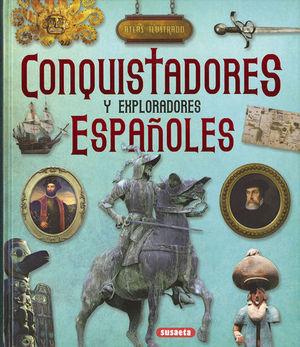 ATLAS ILUSTRADO CONQUISTADORES Y EXPLORADORES