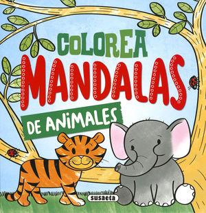 COLOREA MANDALAS DE ANIMALES