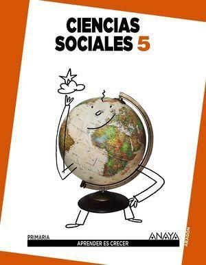 CIENCIAS SOCIALES 5º PRIMARIA APRENDER ES CRECER