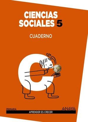 CUADERNO CIENCIAS SOCIALES 5º PRIMARIA APRENDER ES CRECER