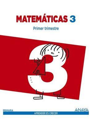 MATEMATICAS 3º EP ´CANTABRIA´ APRENDER ES CRECER