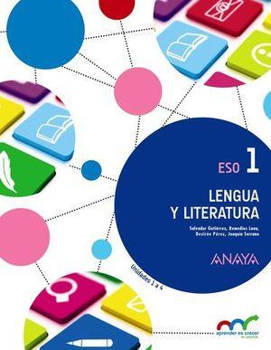 LENGUA Y LITERATURA 1º ESO ED. 2015