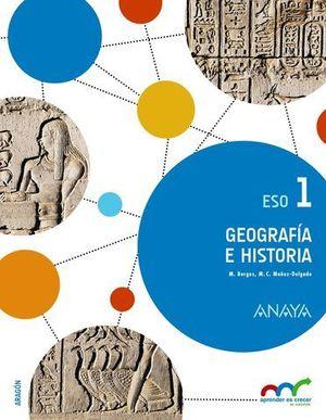 GEOGRAFIA E HISTORIA 1º ESO ED. 2015