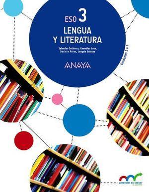 LENGUA Y LITERATURA 3º ESO ED. 2015