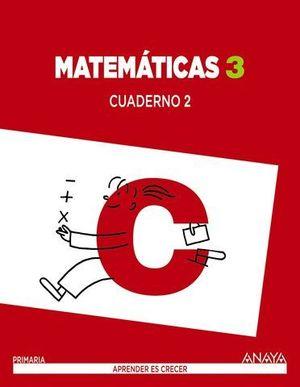 CUADERNO MATEMATICAS 3º PRIMARIA Nº 2 APRENDER ES CRECER