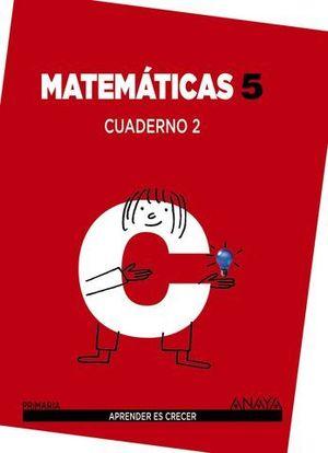 CUADERNO MATEMATICAS 5º PRIMARIA Nº 2 APRENDER ES CRECER