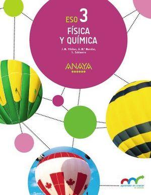 FISICA Y QUIMICA 3º ESO ARAGON APRENDER ES CRECER ED. 2016