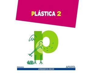 PLASTICA 2º EP APRENDER ES CRECER ED. 2015