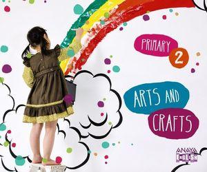 ARTS AND CRAFTS 2º EP APRENDER ES CRECER ED. 2015