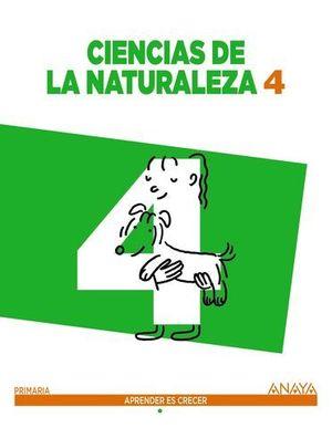 CIENCIAS DE LA NATURALEZA 4º EP APRENDER ES CRECER ED. 2015