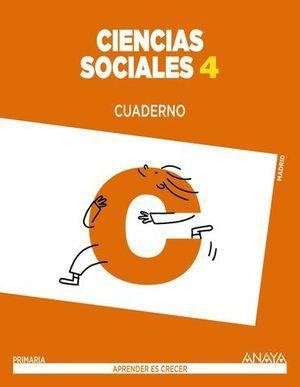 CUADERNO CIENCIAS SOCIALES 4º EP APRENDER ES CRECER ED. 2015