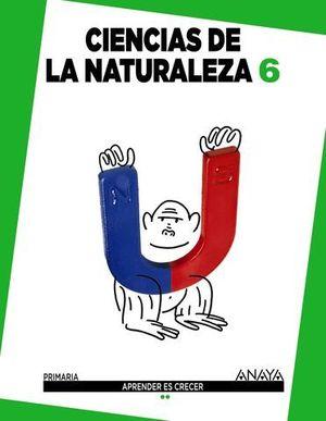 CIENCIAS DE LA NATURALEZA 6º EP APRENDER ES CRECER ED. 2015