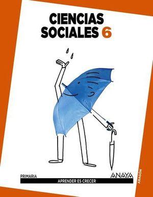 CIENCIAS SOCIALES 6º EP APRENDER ES CRECER ED. 2015