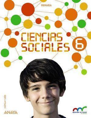 CIENCIAS SOCIALES 6º EP APRENDER ES CRECER CASTILLA Y LEON