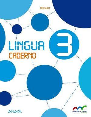 LINGUA 3º EP CUADERNO