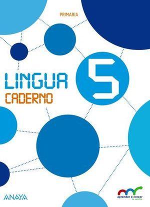 LINGUA 5º EP CUADERNO