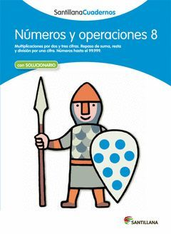 CUADERNO NUMEROS Y OPERACIONES 8 ED. 2012