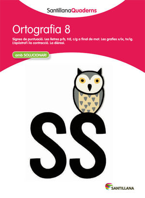 SANTILLANA QUADERNS ORTOGRAFIA 8