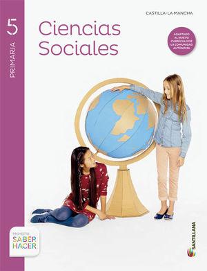 CIENCIAS SOCIALES + ATLAS CASTILLA LA MANCHA 5 PRIMARIA SANTILLANA