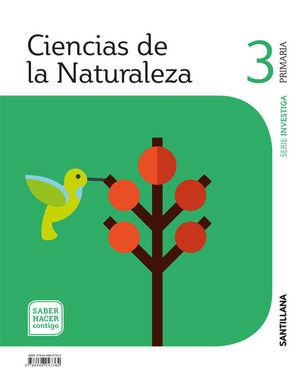 CIENCIAS DE LA NATURALEZA 3º EP SABER HACER CONTIGO ED. 2018