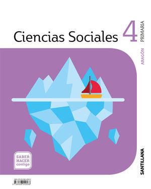 CIENCIAS SOCIALES 4º EP ARAGON SABER HACER CONTIGO ED. 2019