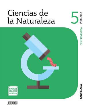 CIENCIAS DE LA NATURALEZA 5º EP ARAGON INVESTIGA SABER HACER CONTIGO