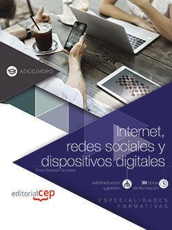 ( ADGG040PO ) MANUAL INTERNET, REDES SOCIALES Y DISPOSITIVOS DIGITALES