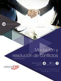 ( ADGD178PO )  MEDIACION Y RESOLUCION DE CONFLICTOS