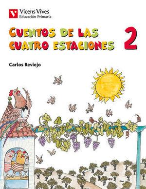 CUENTOS DE LAS CUATRO ESTACIONES 2º EP ED. 2019