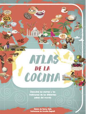 ATLAS DE LA COCINA  ( VV KIDS )