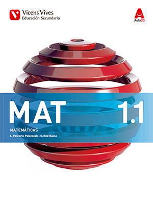 MATEMATICAS 1º ESO TRIMESTRAL AULA 3D ED. 2015
