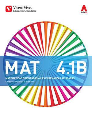 MATEMATICAS 4º ESO APLICADAS TRIMESTRAL  AULA 3D ED. 2016