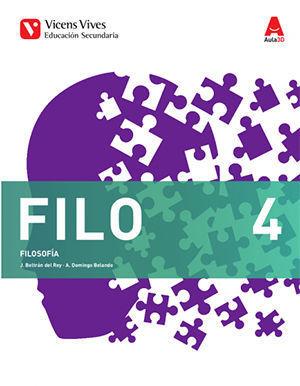 FILOSOFIA 4º ESO AULA 3D ED. 2016