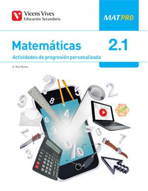 MATEMATICAS PRO 2º ESO AULA 3D ( 3 CUADERNILLOS )