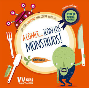 A COMER CON LOS MONSTRUOS ( VV KIDS )