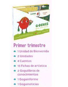 GOGUIS 3 AÑOS 1º TRIMESTRE ED. 2018