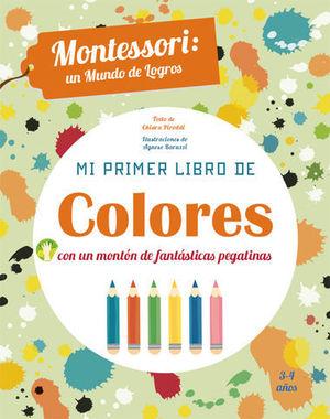 MI PRIMER LIBRO DE COLORES . MONTESSORI ( VV KIDS )