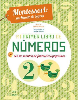 MI PRIMER LIBRO DE NUMEROS . MONTESSORI ( VV KIDS )