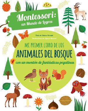 MI PRIMER LIBRO DE LOS ANIMALES DEL BOSQUE  ( VV KIDS )