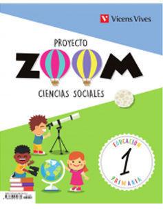 CIENCIAS SOCIALES 1º EP PROYECTO ZOOM ED. 2018