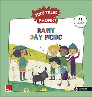 TINY TALES PHONICS.  RAINY DAY PICNIC ( I, U, AE, R )