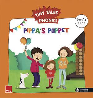 TINY TALES PHONICS.  PIPPA´S PUPPET ( I, U, P, T )
