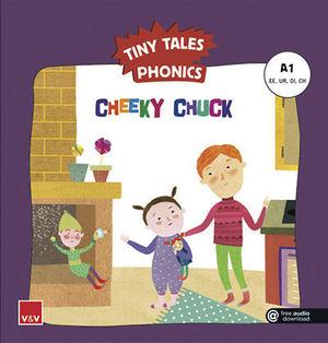TINY TALES PHONICS.  CHEEKY CHUCK ( EE, UR, OI, CH )