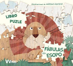FABULAS DE ESOPO.  LIBRO PUZZLE  ( VV KIDS )